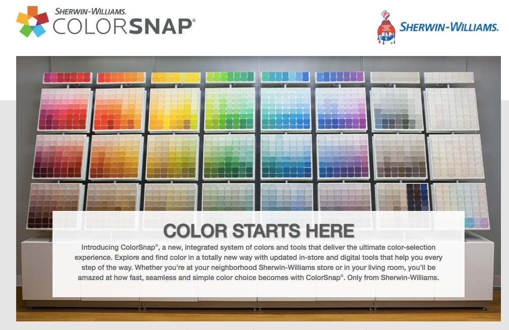 ColorSnap From Sherwin-Williams - Color Starts Here